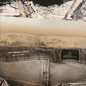 Size 31 R AG high rise skinny jeans
